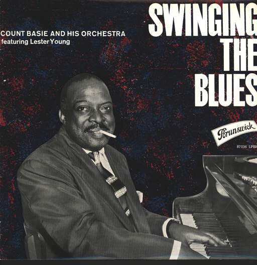 COUNT BASIE ORCHESTRA - Swinging The Blues - 33T