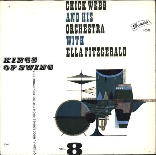 CHICK WEBB AND HIS ORCHESTRA - Kings Of Swing Vol. 8 - 45T (SP 2 titres)