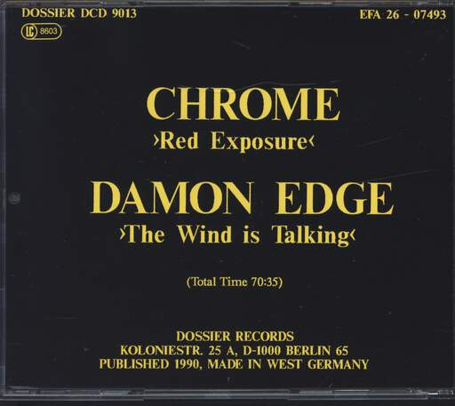 Chrome Red Exposure / The Wind Is Talking