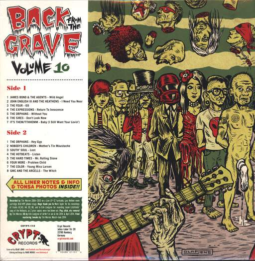 Various Back From The Grave Volume 10