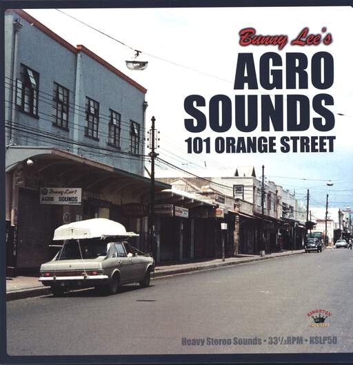 VARIOUS - Bunny Lee's Agro Sounds 101 Orange Street - 33T