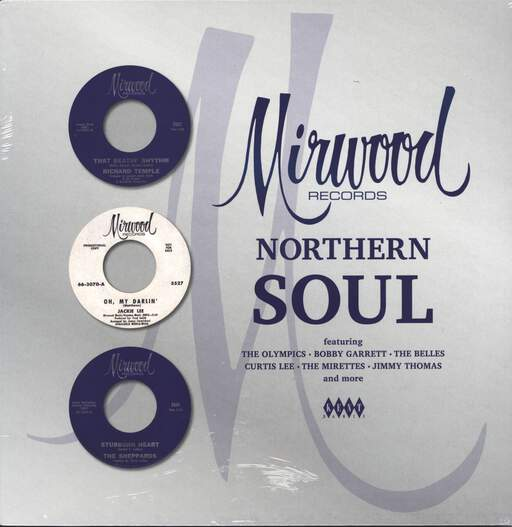 VARIOUS ARTISTS - Mirwood Records Northern Soul - 33T