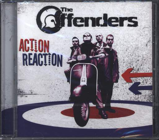 THE OFFENDERS - Action Reaction - CD