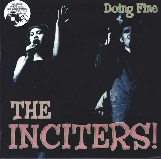 THE INCITERS - Doing Fine - 33T