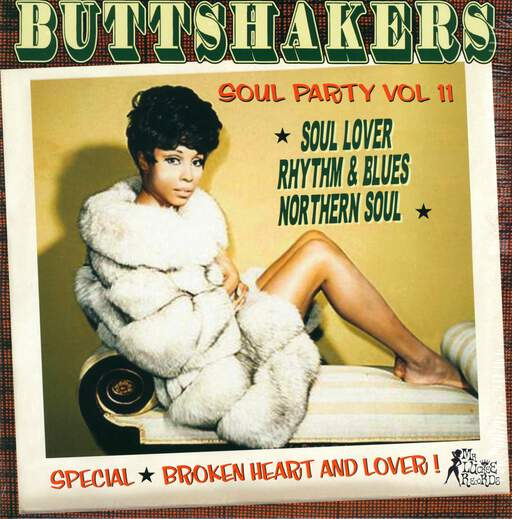 VARIOUS - Buttshakers Soul Party Vol 11 - 33T