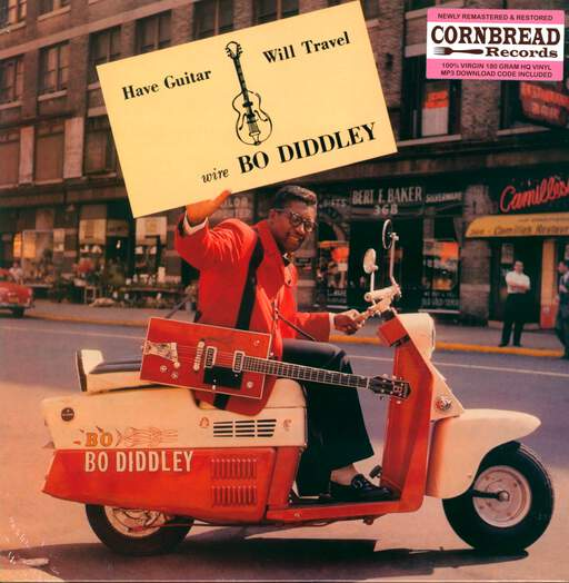 bo diddley have guitar, will travel
