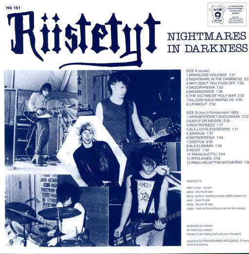 Riistetyt Nightmares In Darkness