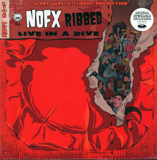 NOFX Ribbed - Live In A Dive