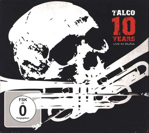 TALCO - 10 Years - Live In Iruña - CD x 2