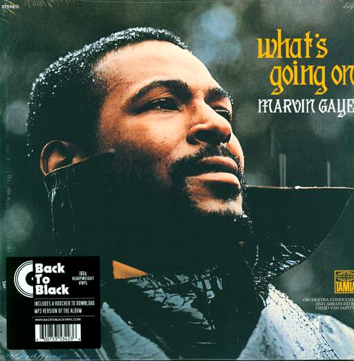 MARVIN GAYE - What's Going On - 33T