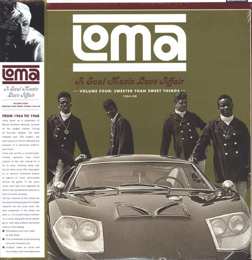 Various Loma: A Soul Music Love Affair Volume 4: Sweeter Than Sweet Things 1964-1968