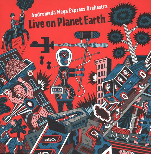 ANDROMEDA MEGA EXPRESS ORCHESTRA - Live On Planet Earth - 33T