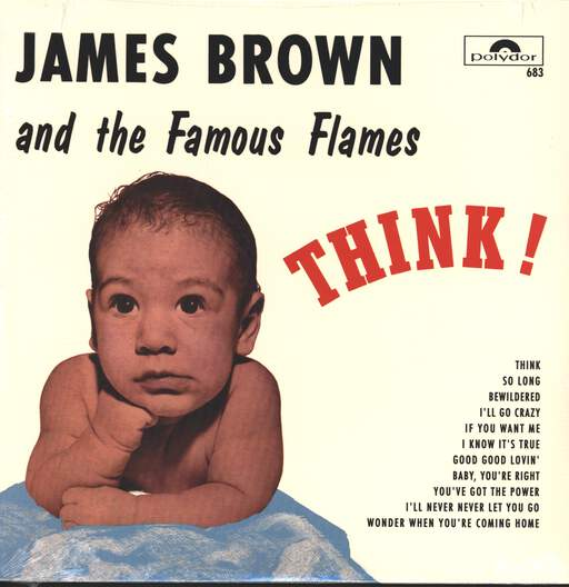 JAMES BROWN & THE FAMOUS FLAMES - Think! - 33T