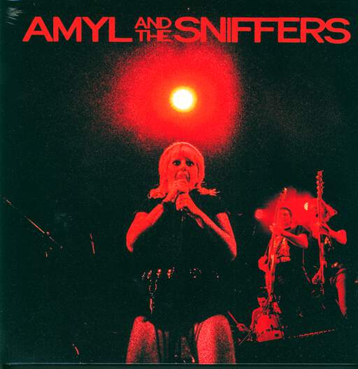 AMYL AND THE SNIFFERS - Big Attraction & Giddy Up - 33T