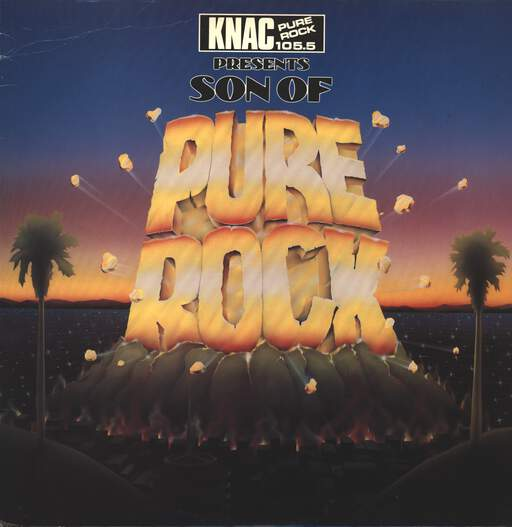 Various KNAC Pure Rock 105.5 - Son Of Pure Rock