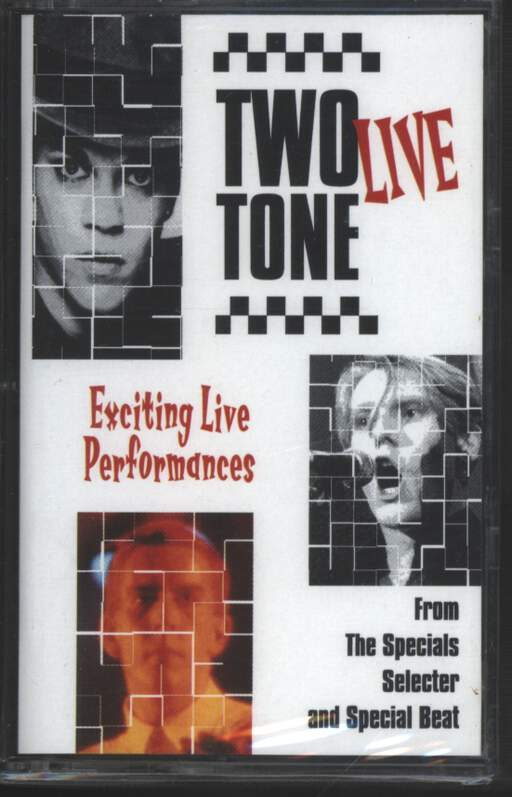 THE SPECIALS - Two Tone Live. Exciting Live Performances. - Cassette
