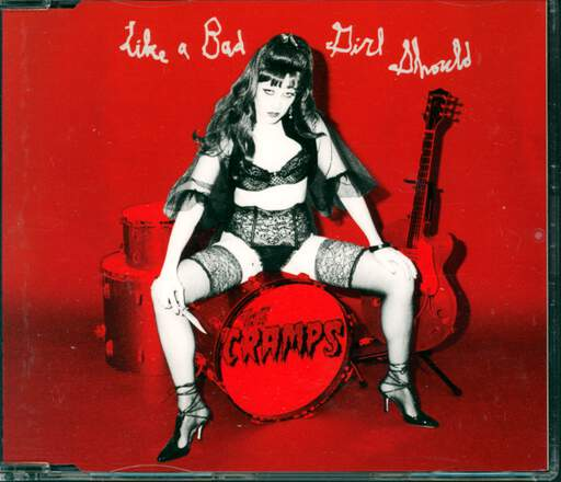 THE CRAMPS - Like A Bad Girl Should - CD Maxi