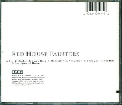 Red House Painters Red House Painters