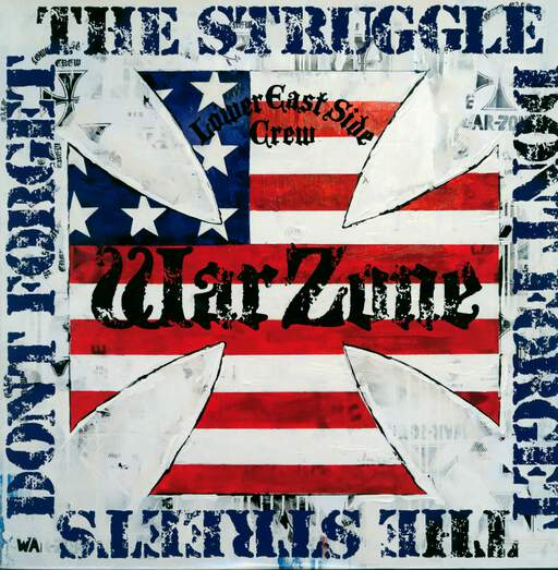 WARZONE - Don't Forget The Struggle Don't Forget The Streets - 33T