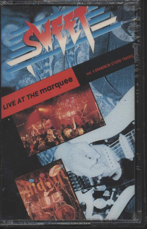 THE SWEET - Live At The Marquee - Cassette
