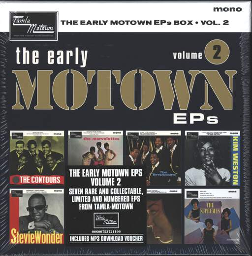 Various The Early Motown EPs Box Volume 2