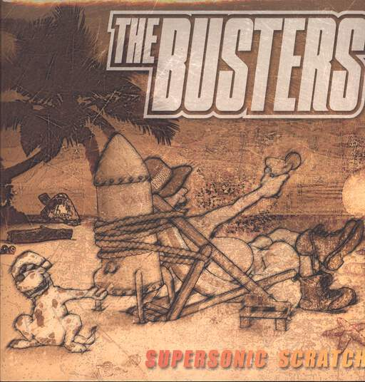 THE BUSTERS - Supersonic Scratch - 33T