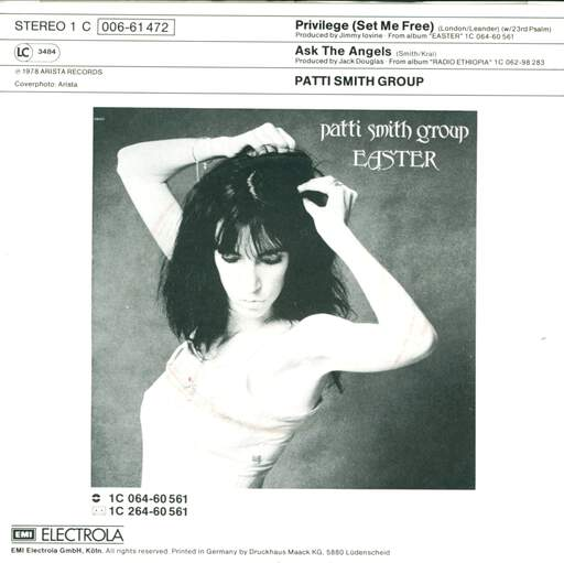 Patti Smith Group Privilege