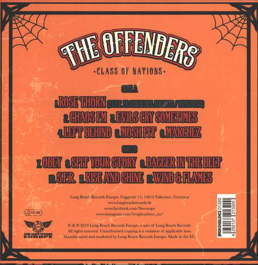 The Offenders Class Of Nations