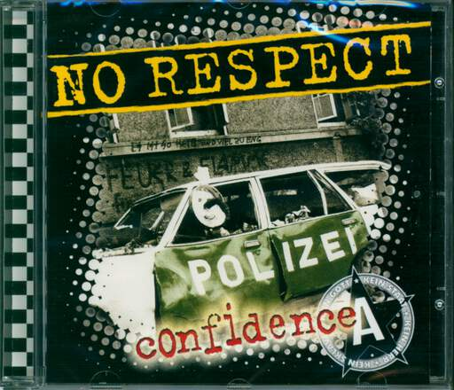 NO RESPECT - Confidence - CD