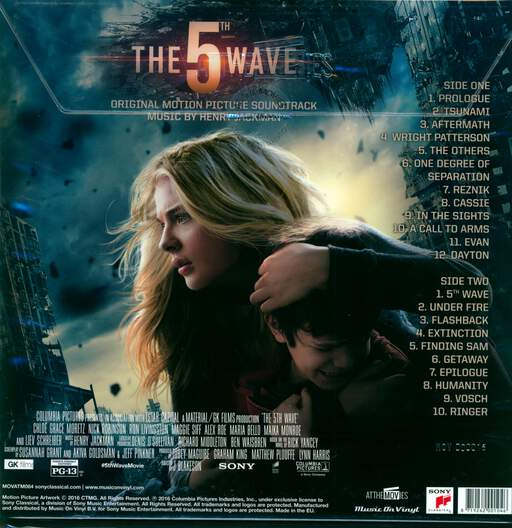Henry Jackman The 5th Wave (Original Motion Picture Soundtrack)