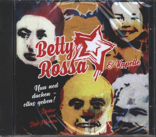 Betty Rossa & Kapelle Nua Ned Ducken - Lieder von Sigi Maron