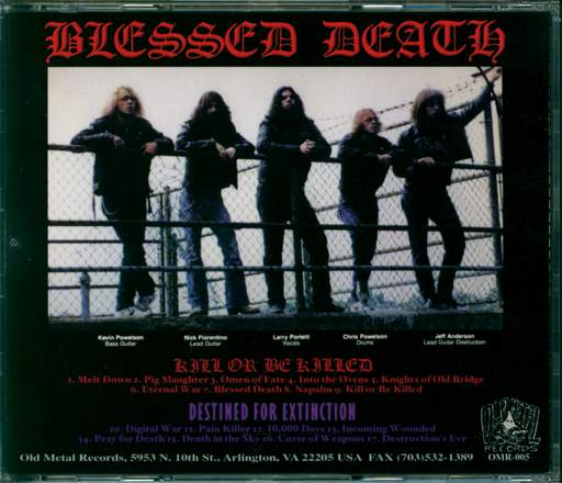 Blessed Death Kill Or Be Killed / Destined For Extinction