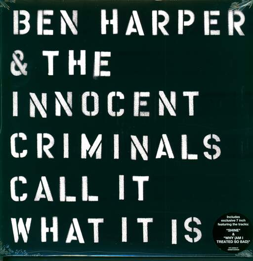 Ben Harper & The Innocent Criminals Call It What It Is