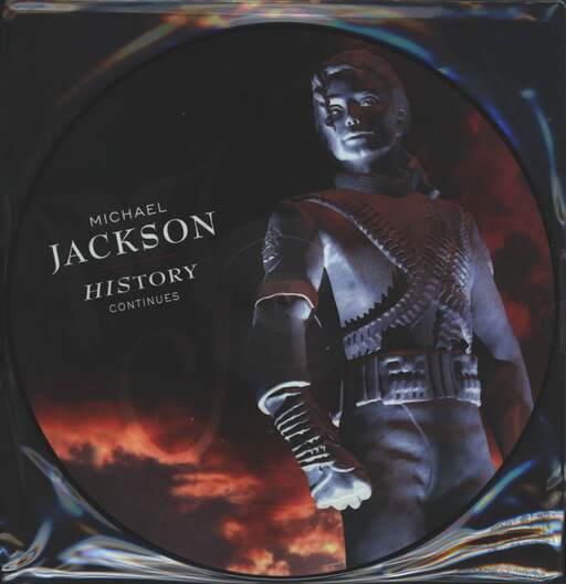 MICHAEL JACKSON - History Continues - 33T x 2
