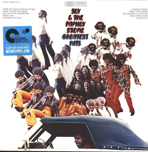 SLY + THE FAMILY STONE - Greatest Hits - 33T