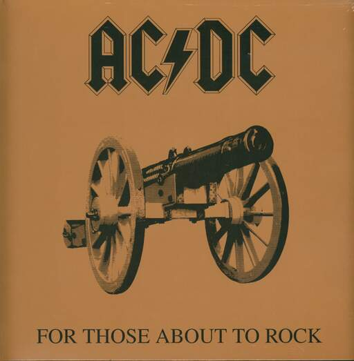 AC/DC For Those About To Rock (We Salute You)