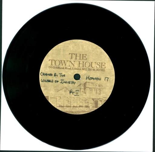 Heaven 17 Crushed By The Wheels Of Industry ACETATE