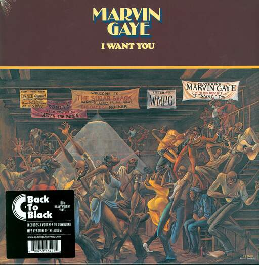 MARVIN GAYE - I Want You - 33T