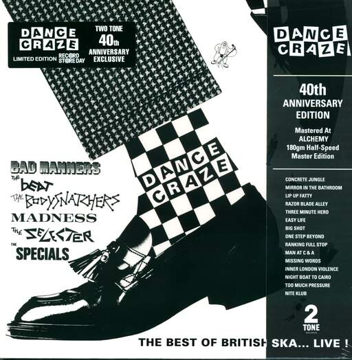 VARIOUS - Dance Craze - The Best Of British Ska... Live! - 33T