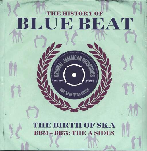 VARIOUS - The History Of Blue Beat - The Birth Of Ska BB51 - BB75 A Sides - 33T x 2