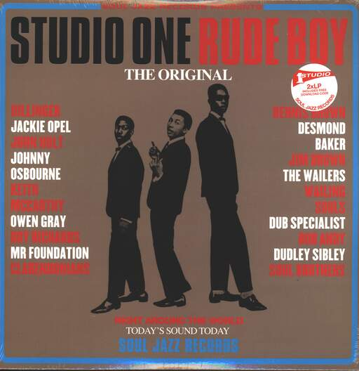VARIOUS - Studio One Rude Boy - 33T