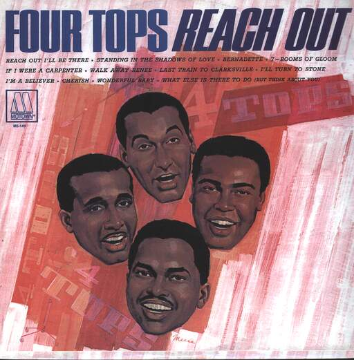 FOUR TOPS - Reach Out - 33T