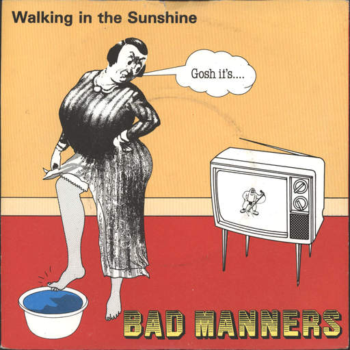 "Bad Manners: Walking In The Sunshine, 7"" Single (Vinyl)"