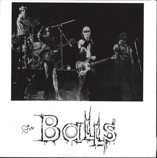 "Big Balls & The Great White Idiot: Fallen Angels / Sweet Catherine, 7"" Single (Vinyl)"