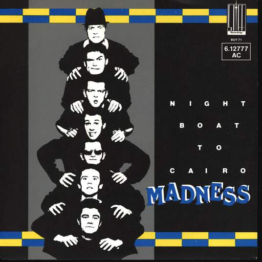 "Madness: Night Boat To Cairo, 7"" Single (Vinyl)"
