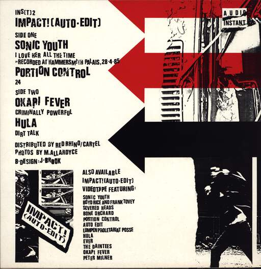 "Various: Impact! (Auto·Edit), 12"" Maxi Single (Vinyl)"