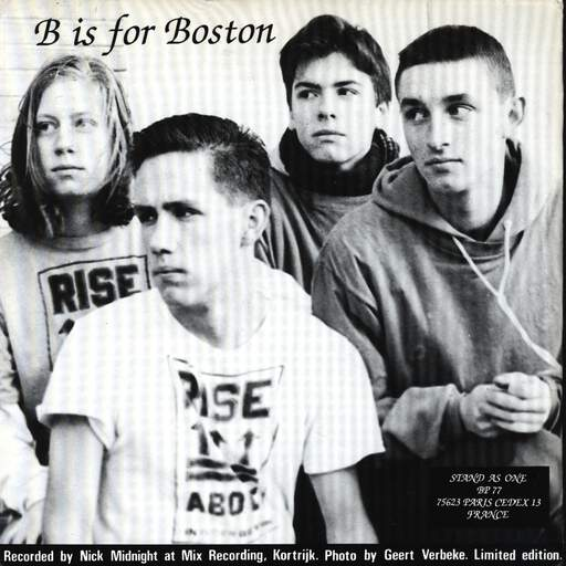 "Rise Above: B Is For Boston, 7"" Single (Vinyl)"