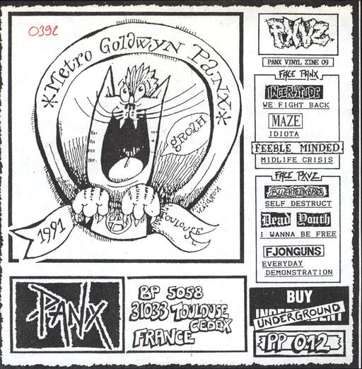 "Various: Panx Vinyl Zine 09, 7"" Single (Vinyl)"