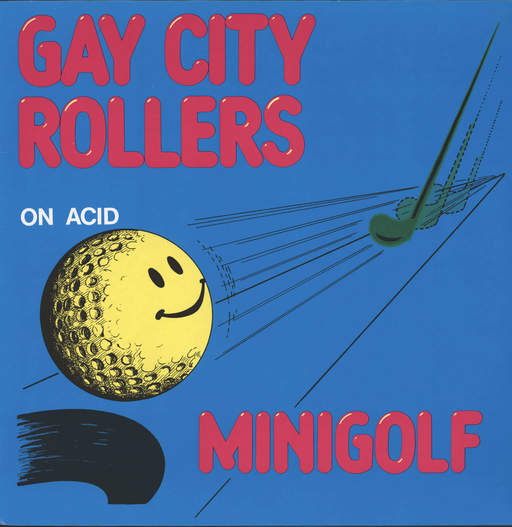 "Gay City Rollers: Minigolf On Acid, 12"" Maxi Single (Vinyl)"