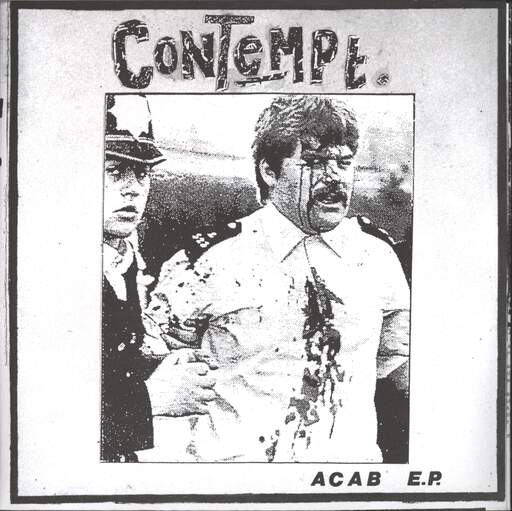 "Contempt: A C A B  E.P., 7"" Single (Vinyl)"
